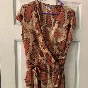 Jennifer Lopez snake skin pattern dress !!